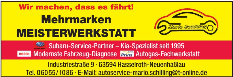 Autoservice Marion Schilling