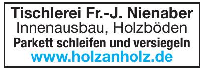Tischlerei Fr.-J. Nienaber