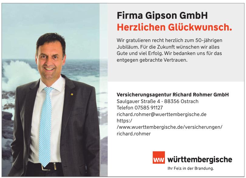 Versicherungsagentur Richard Rohmer GmbH