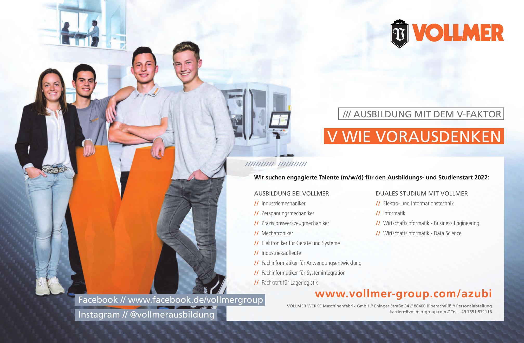 Vollmer Werke Maschinenfabrik GmbH