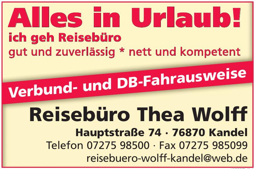 Reisebüro Thea Wolff