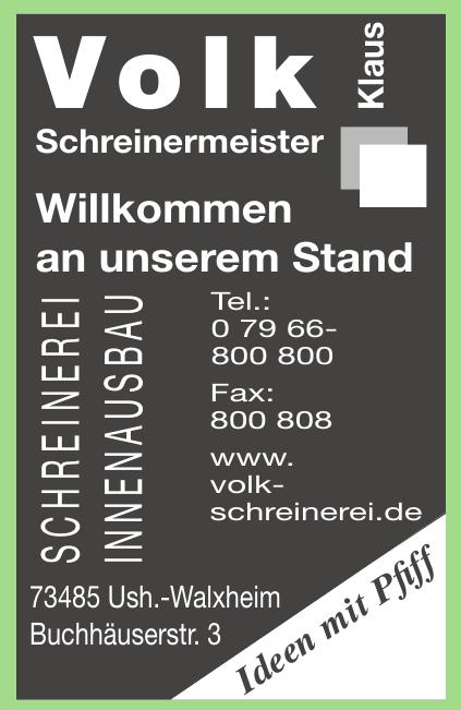 Volk Schreinermeister