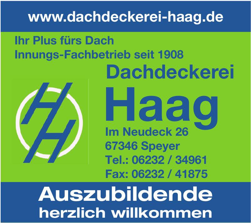 Dachdeckerei Haag