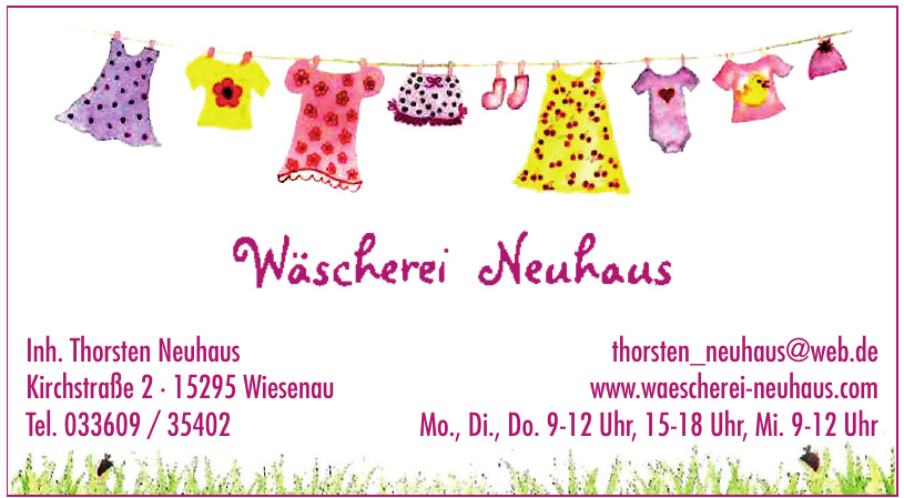 Wäscherei Neuhaus