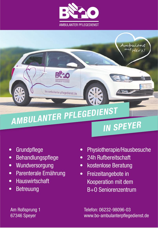 B + O Ambulanter Pflegedienst