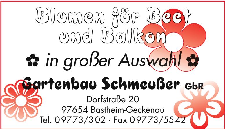 Gartenbau Schmeußer GbR