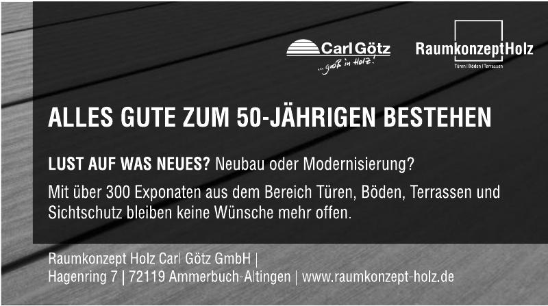 Raumkonzept Holz Carl Götz GmbH