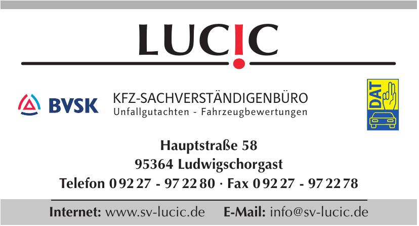 Lucic Kfz-Sachverständigenbüro