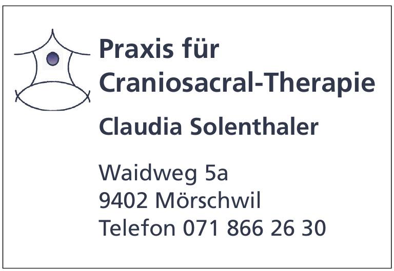 Praxis für Craniosacral-Therapie Claudia Solenthaler