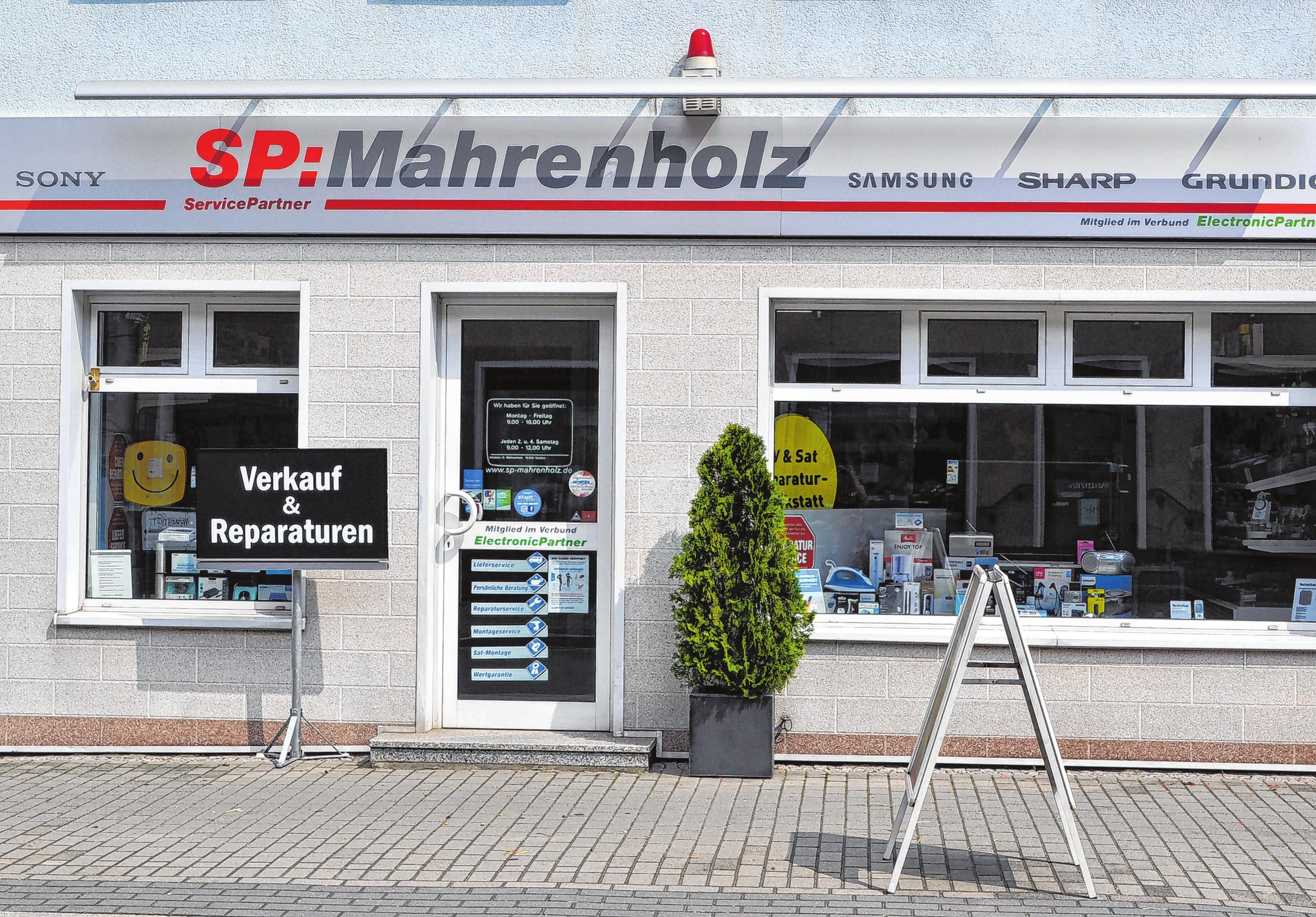 Aktuellste Technik in Seelow: Dirk Mahrenholz bietet in seinem Fachgeschäft immer neueste Geräte an.