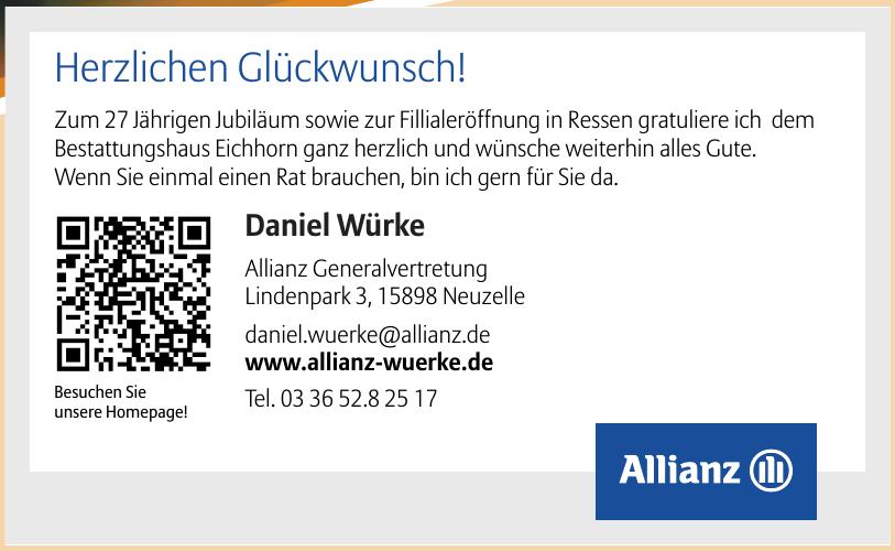 Allianz Daniel Würke
