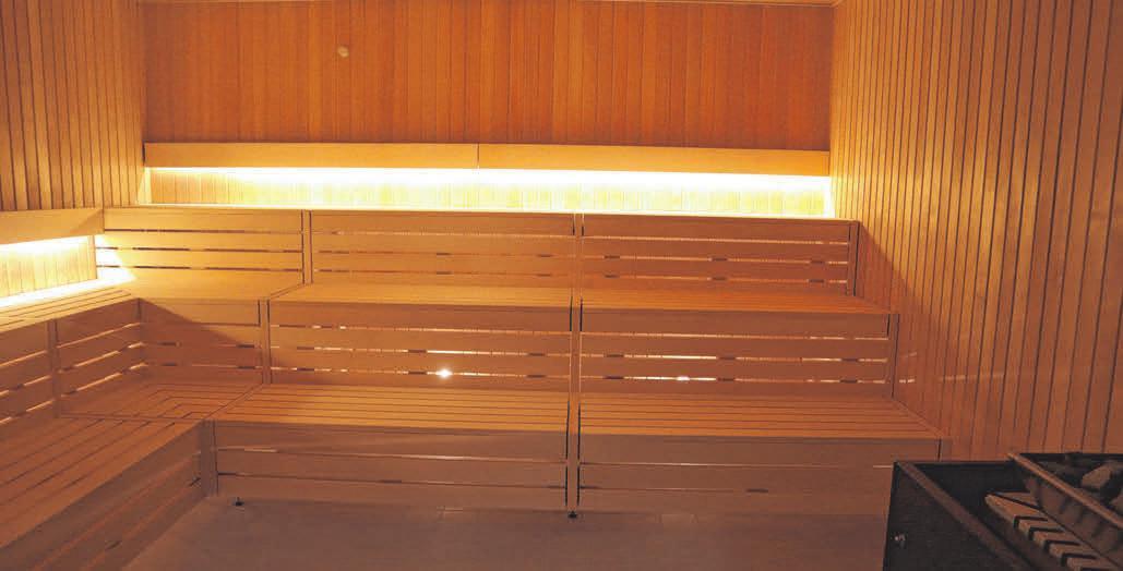 Badegäste können sich bald in der neuen Sauna aufwärmen und so den unwirtlichen Außentemperaturen trotzen. FOTO: EKO