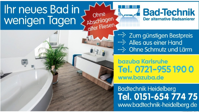 Badtechnik Heidelberg