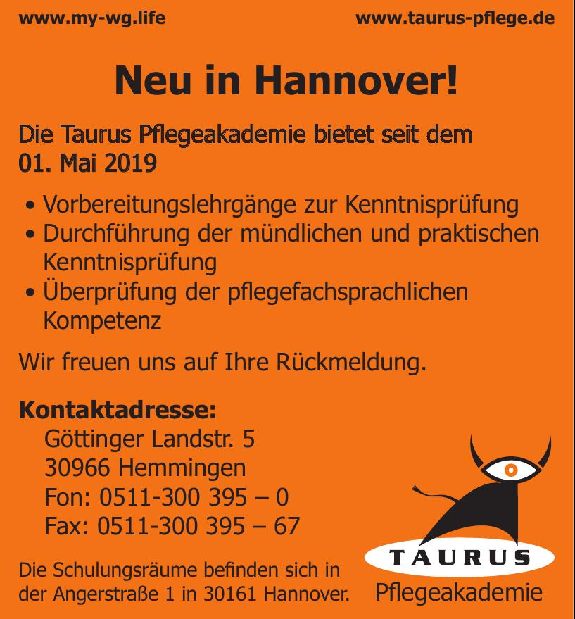 Taurus Pflegeakademie