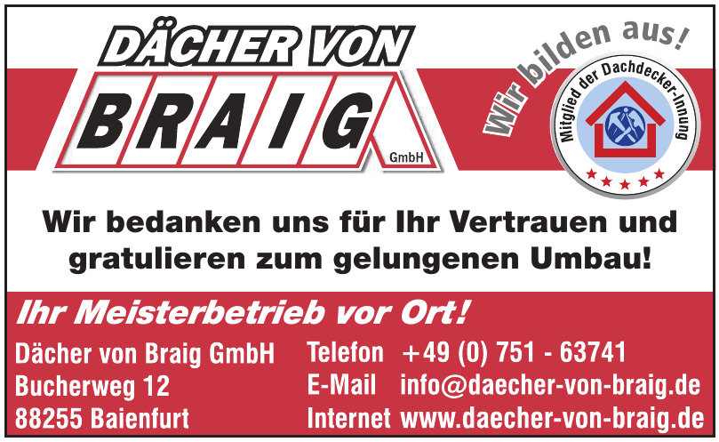 Dächer von Braig GmbH