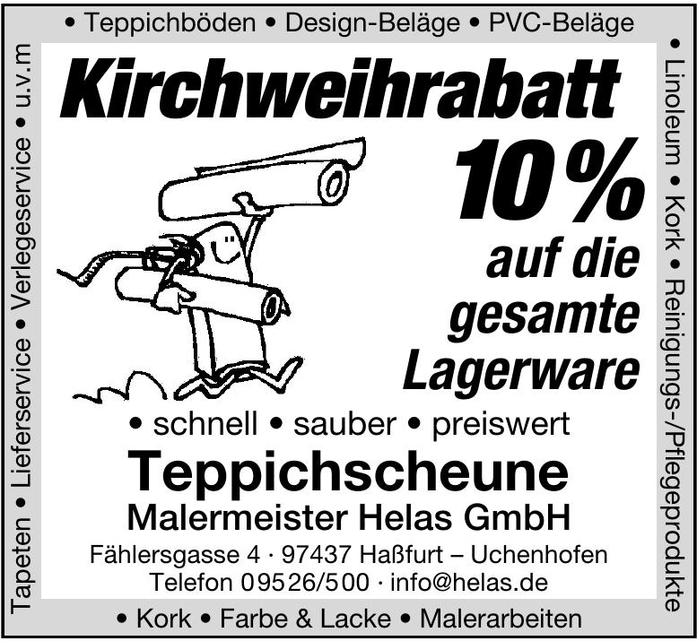 Teppichscheune Malermeister Helas GmbH