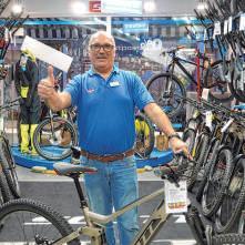 Wolfgang Amann vom Zweiradhaus Amann