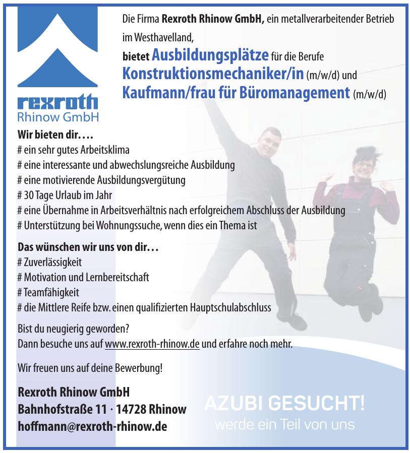 Rexroth Rhinow GmbH