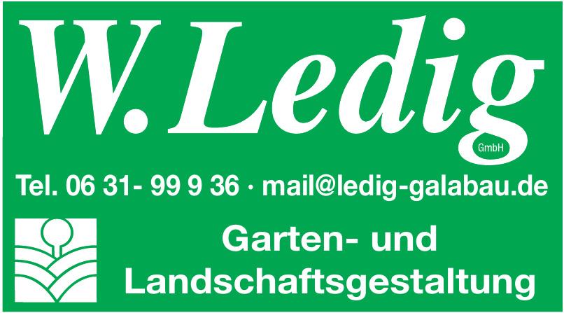 W. Ledig GmbH Garten- und Landschaftsgestaltung