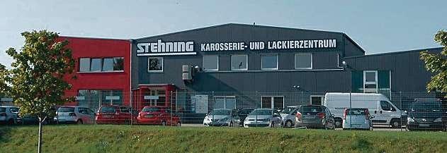 Stehning GmbH: kompetenter Partner bei Unfallschäden. FOTO: HFR
