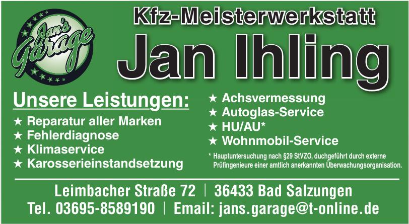 Kfz-Meisterwerkstatt Jan Ihling