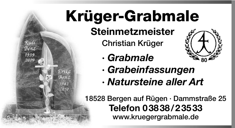 Krüger-Grabmale
