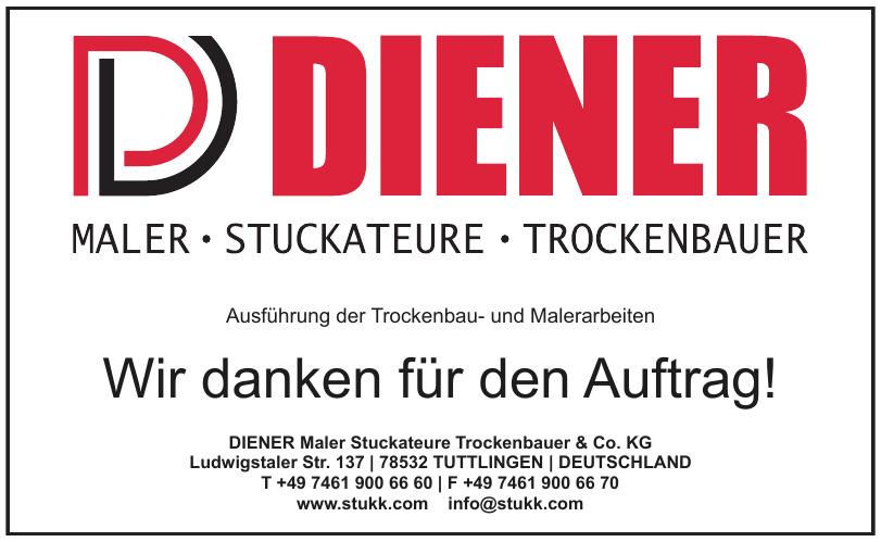 DIENER Maler Stuckateure Trockenbauer GmbH & Co. KG