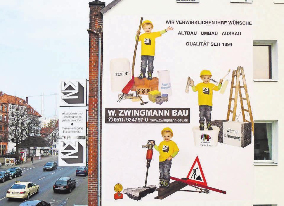Die Werner Zwingmann Bau-Ing. GmbH hat ihren Sitz in Linden an der Fössestraße 69.