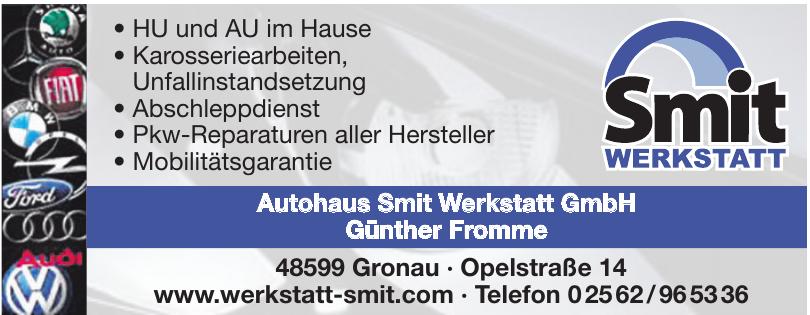 Autohaus Smit Werkstatt GmbH Günther Fromme