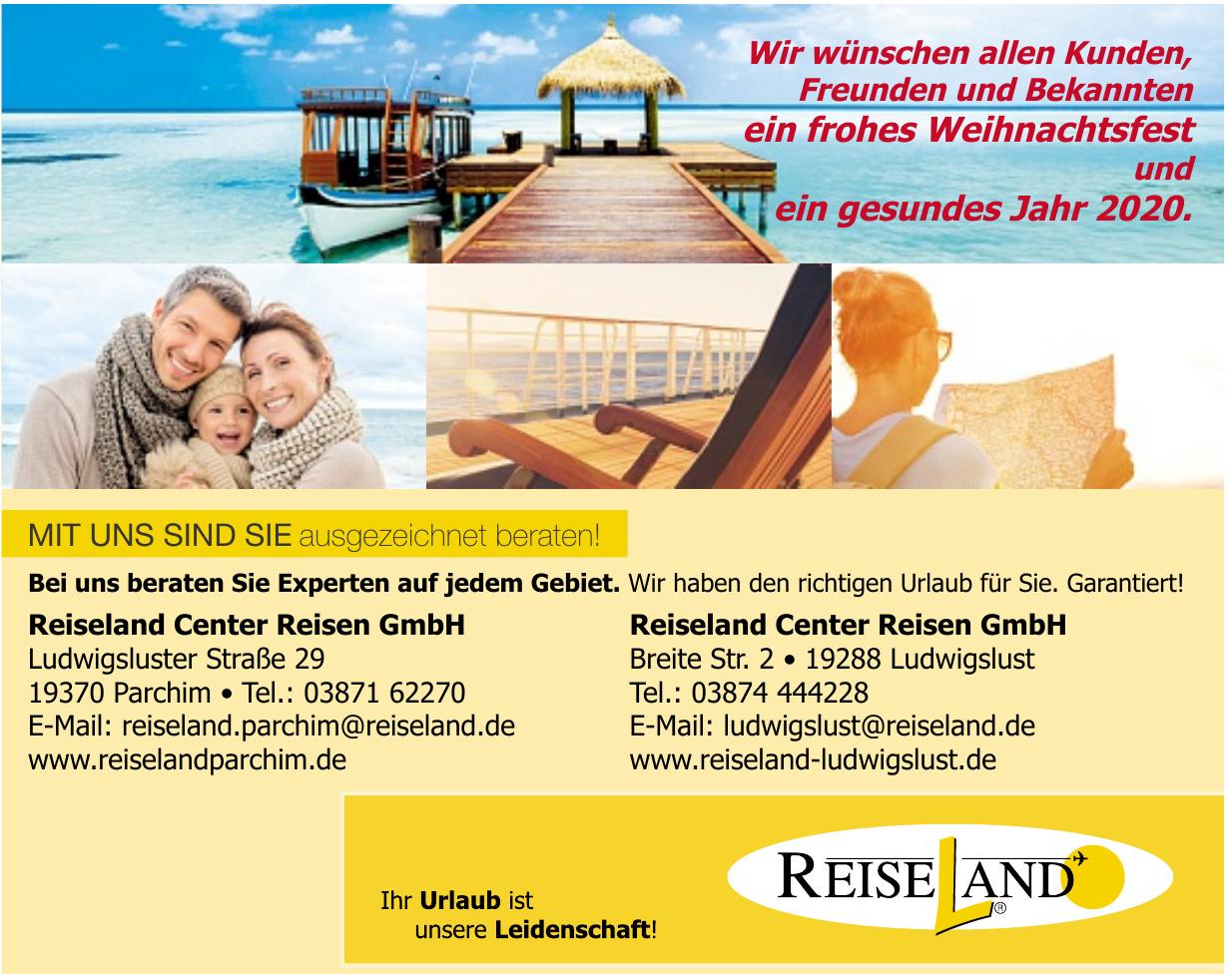 Reiseland Center Reisen GmbH