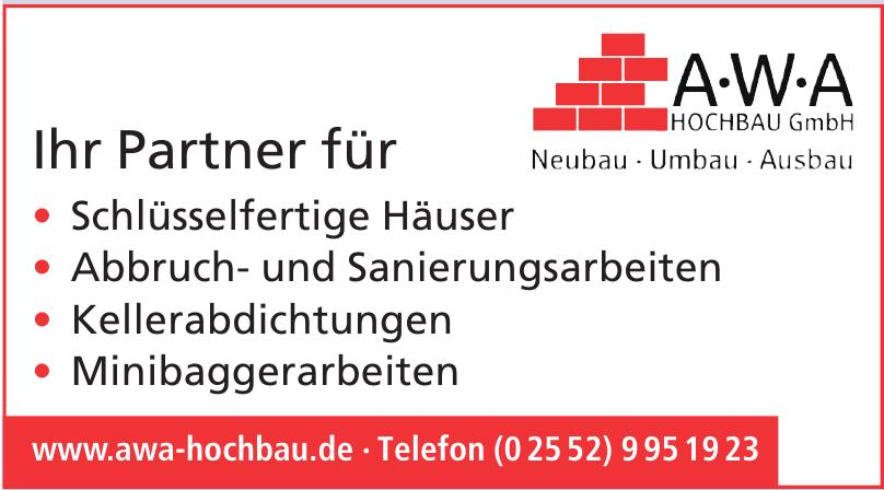 Awa Hochbau GmbH