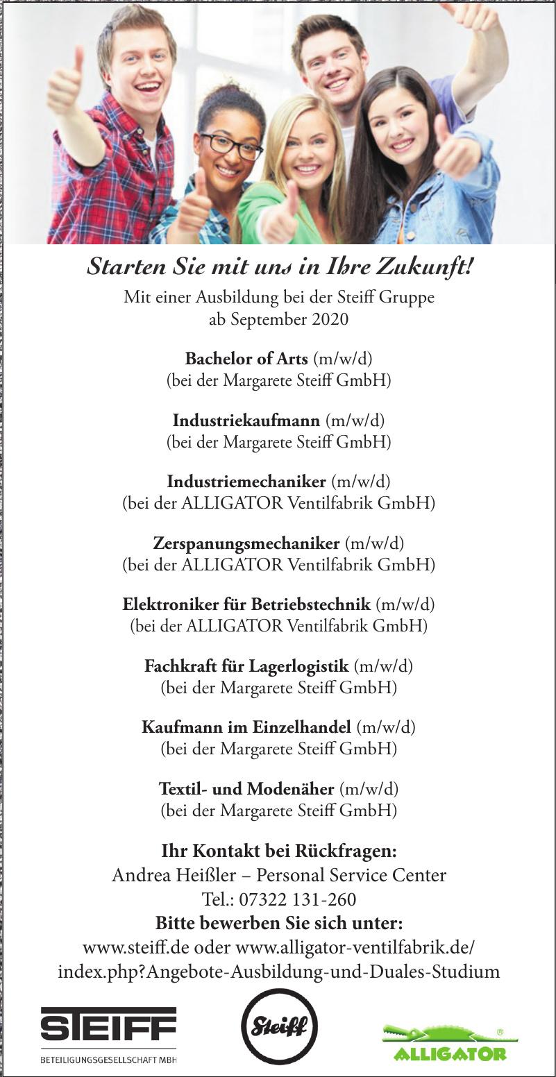 Steiff Gruppe - Margarete Steiff GmbH