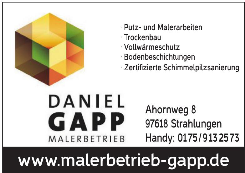 Daniel Gapp Malerbetrieb
