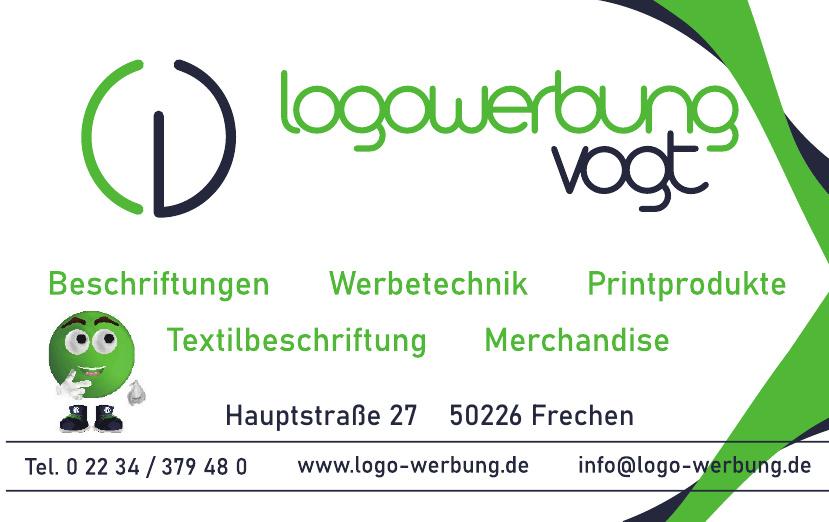 Logowerbung Vogt