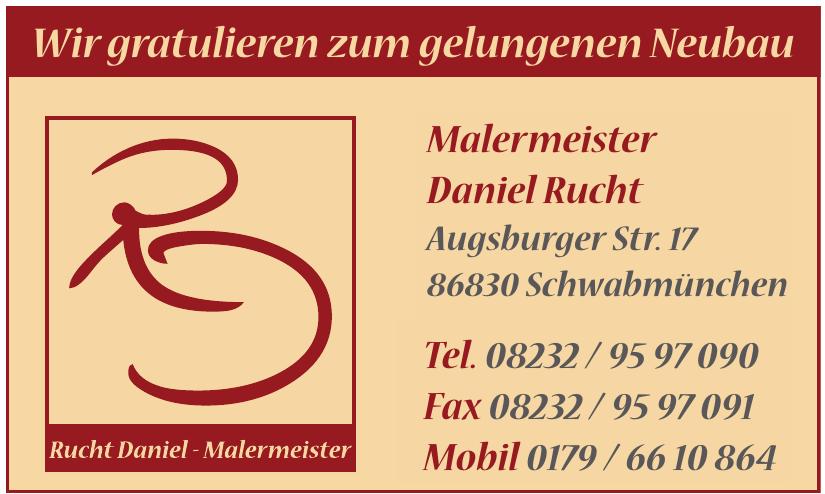 Malermeister Daniel Rucht