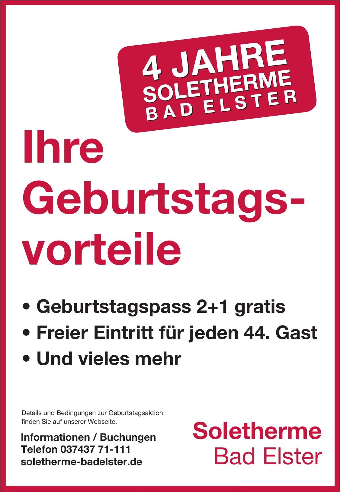 Soletherme Bad Elster