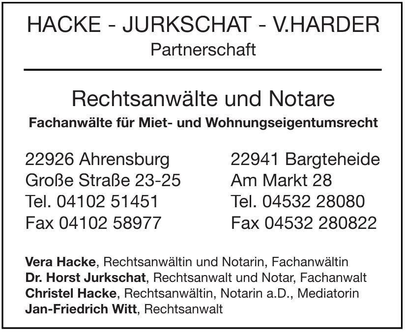 Hacke - Jurkschat - V.Harder