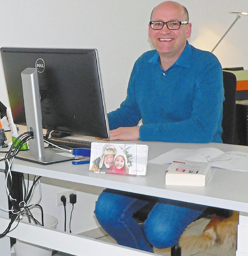 Frank Rademacher ist Ansprechpartner in der Havixbecker Filiale.