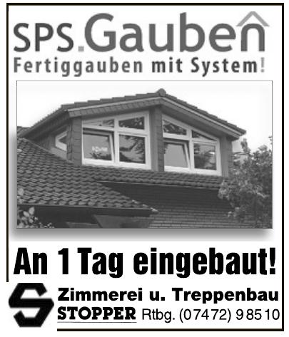 Zimmerei u. Treppenbau Stopper Rtbg.