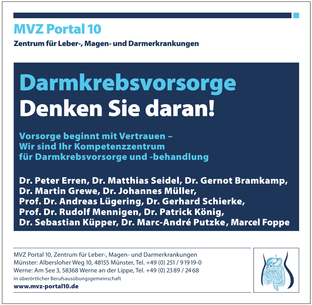 MVZ Portal 10 - Zentrum für Leber-, Magen- und Darmerkrankungen