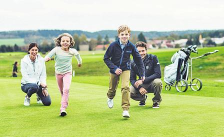 Im Spa & Golf Resort Weimarer Land sind Kinder ausdrücklich willkommen