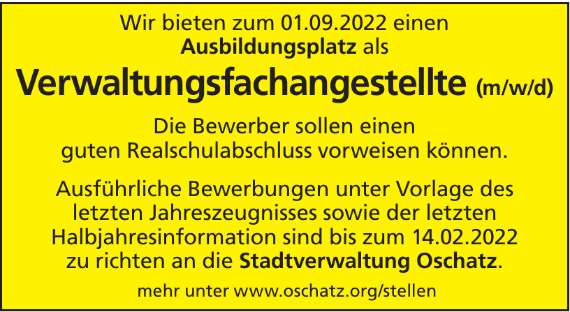 Stadtverwaltung Oschatz