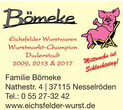 Eichsfelder Wurst Bömeke