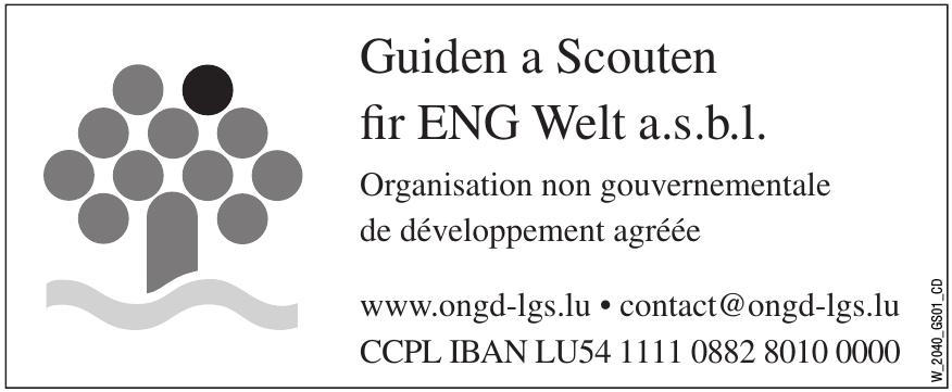 Guiden a Scouten fir ENG Welt a.s.b.l