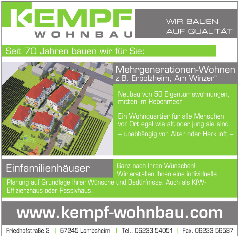 Kempf Wohnbau
