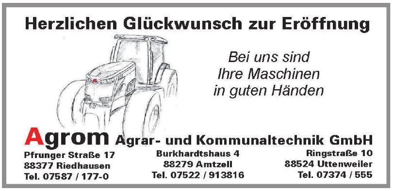 Agrom Agrar- und Kommunaltechnik GmbH
