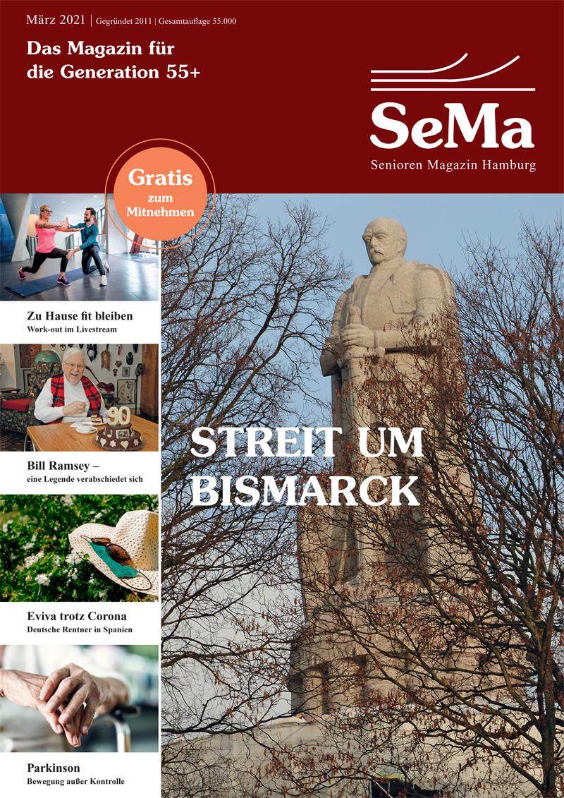 """Die aktuelle Ausgabe des Seniorenmagazins aus Hamburg """"SeMa"""". Foto: SeMaDie aktuelle Ausgabe des Seniorenmagazins aus Hamburg """"SeMa"""". Foto: SeMa"""