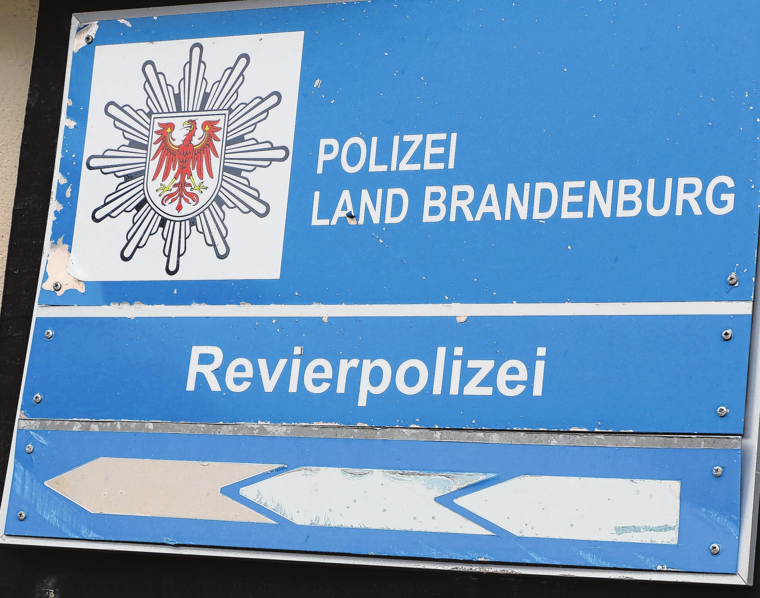 Unter anderem die Revierpolizei hat ihren Sitz auf dem BFN-Gelände. Sie codiert beim Tag der offenen Tür Fahrräder.