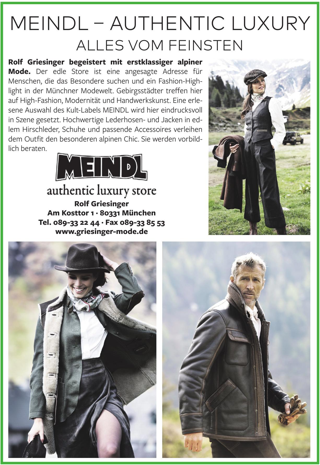 Meindl – Authentic Luxury