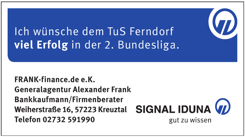 FRANK-finance.de e.K. - Generalagentur Alexander Frank